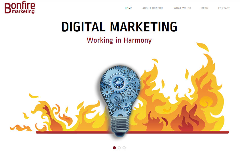 Bonfire Marketing Website