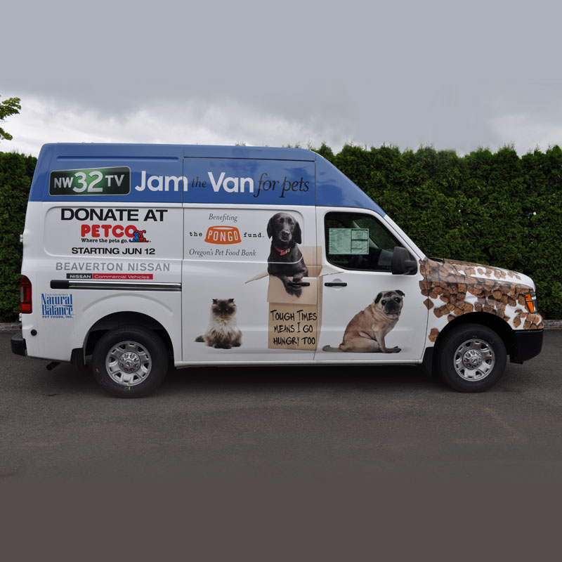 Vehicle Wrap – Right