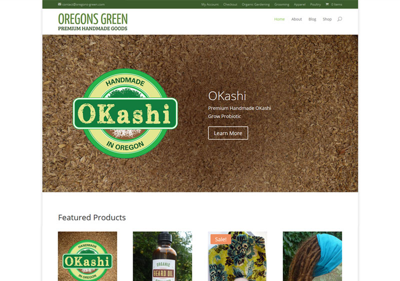 Oregons Green Website