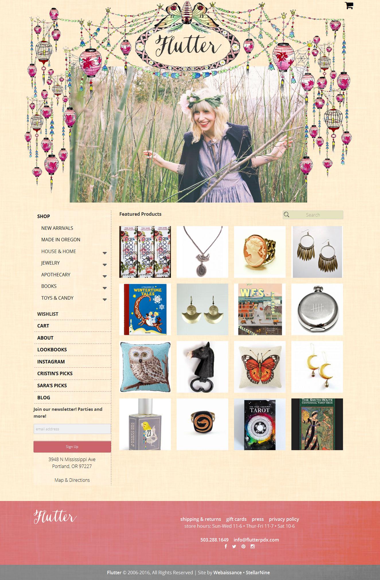 Flutter Website