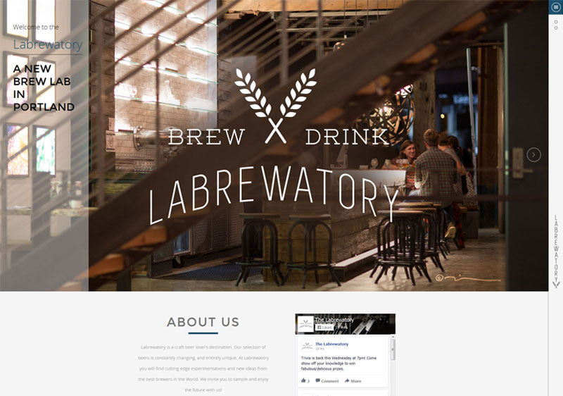Labrewatory Website