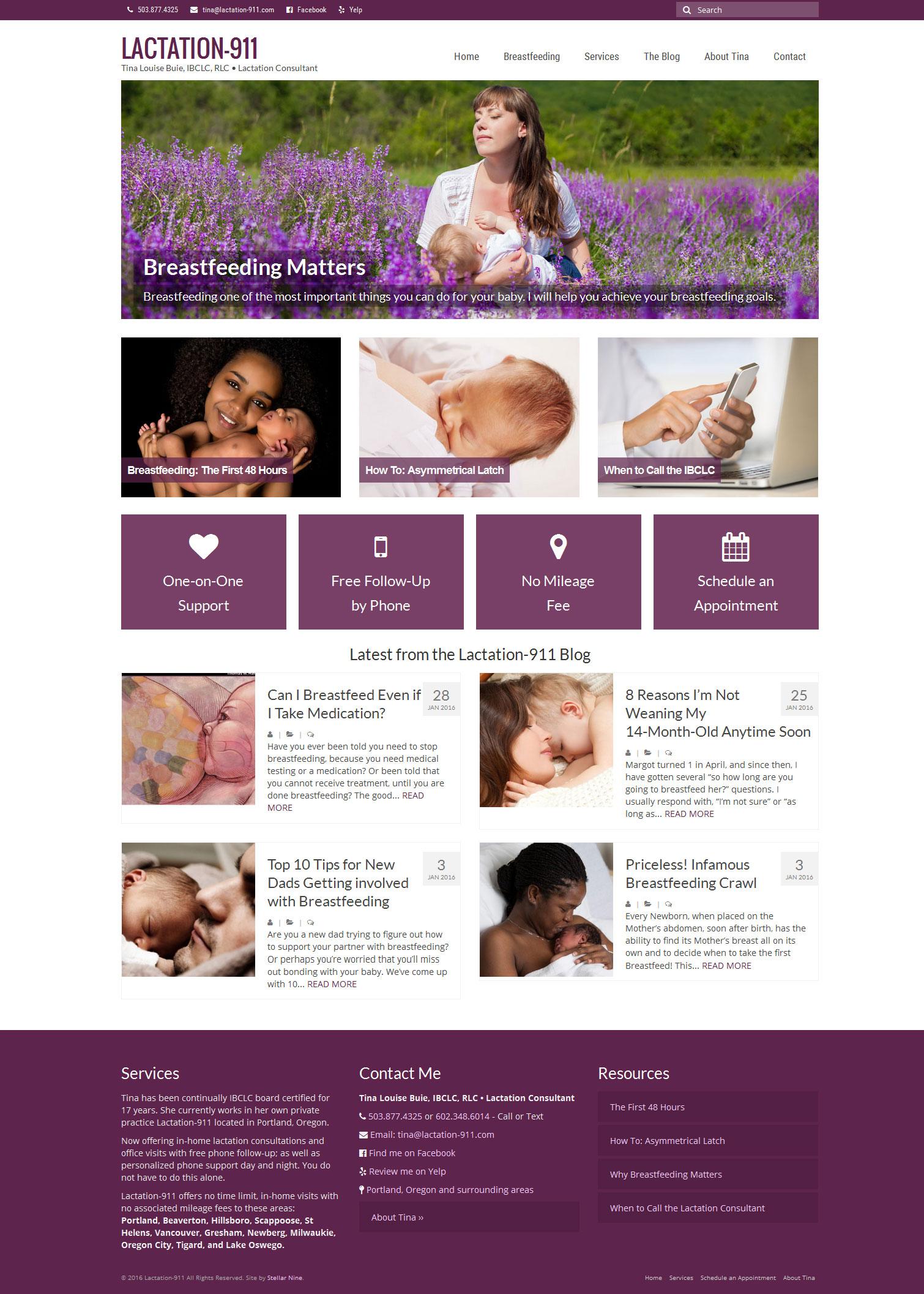 Lactation-911 Website