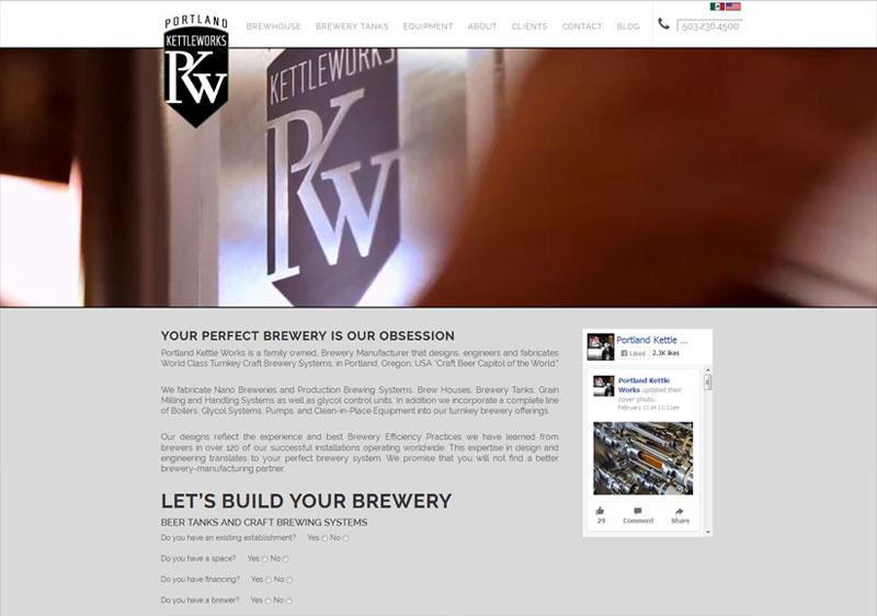 Portland Kettleworks Multilingual Website