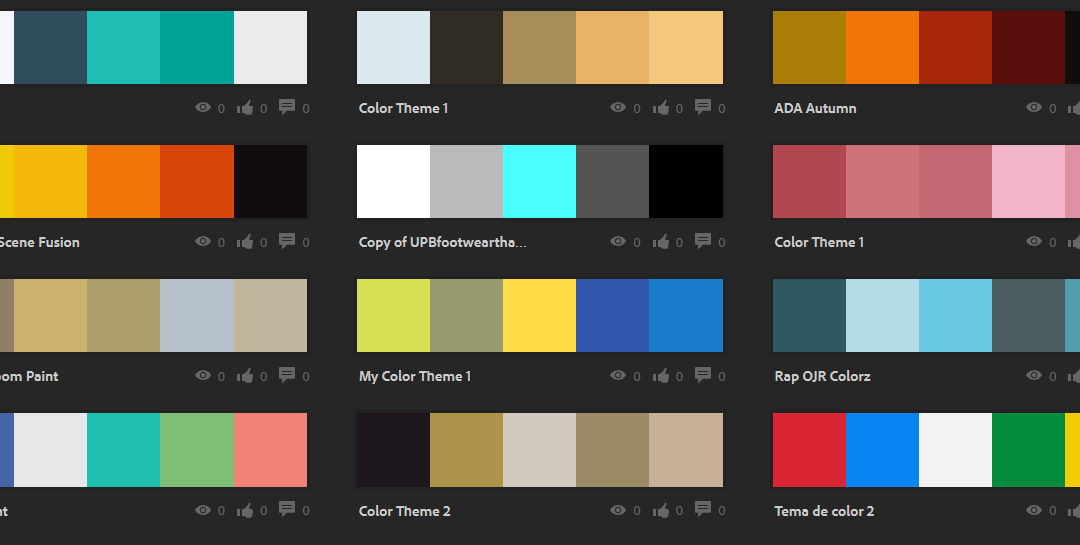 creating a color scheme - Color Schems