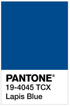 Lapis Blue - Pantone 19-4045 TCX