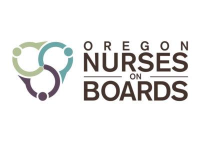 Oregon Nurses on Boards Logo