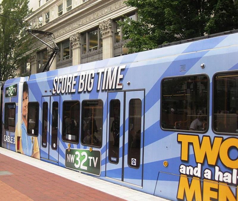 MAX Train Wrap