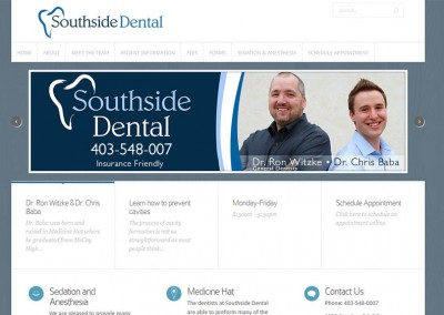 Southside Dental Website