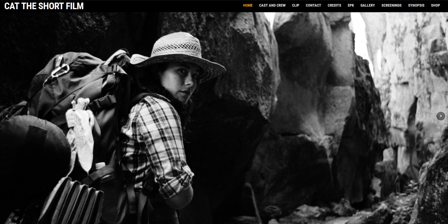 Cat the Short Film Website