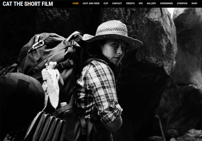 Cat the Short Film Website