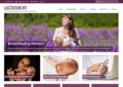 Lactation-911 Website
