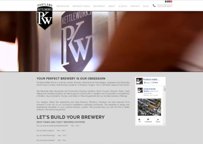 Portland Kettleworks Multilingual Website