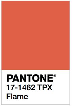 Flame - Pantone 17-1462 TPX