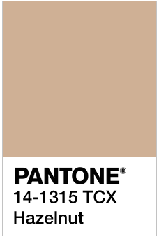 Hazlenut - Pantone 14-1315 TCX