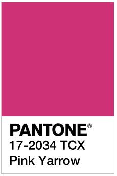Pink Yarrow - Pantone 17-2034 TCX