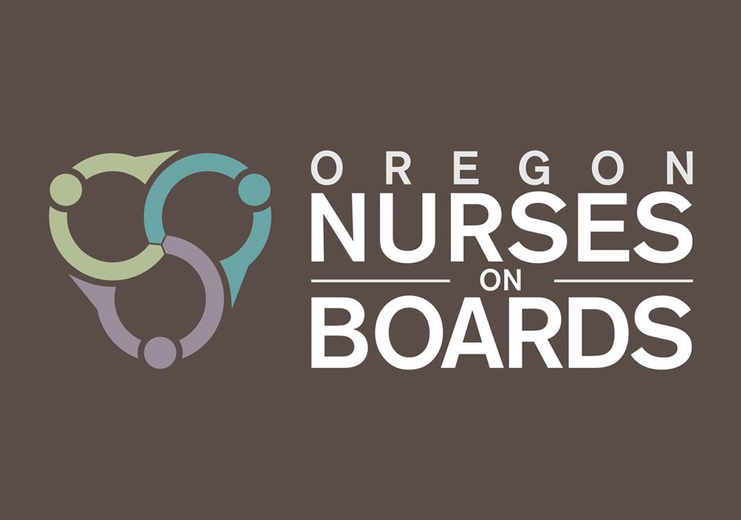 Oregon Nurses on Boards Logo Design